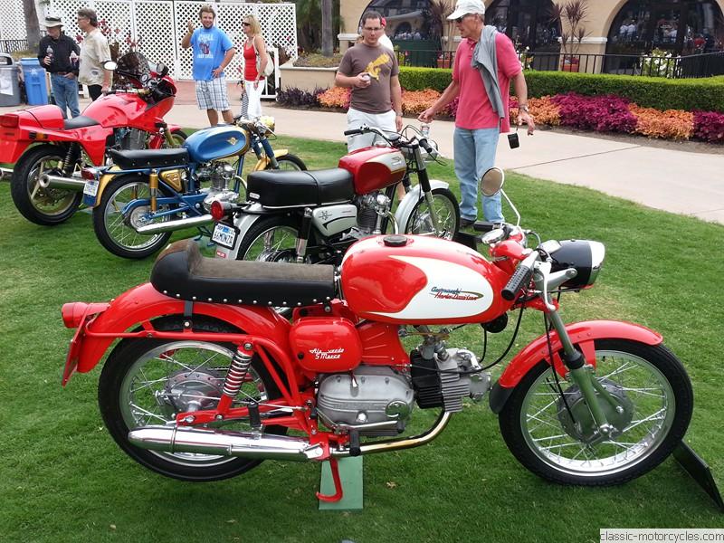 1968 aermacchi harley davidson ala verde 250 | classic motorcycles