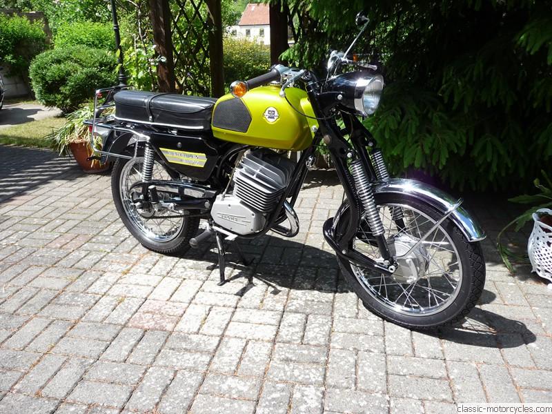 1971 Hercules K 105 X Classic Motorcycles