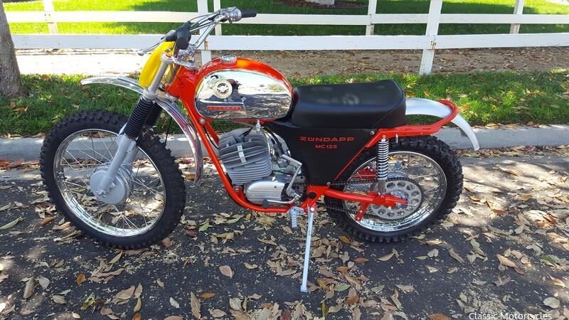 Bloomington Harley Davidson >> 1971 Zündapp MC125 | Classic Motorcycles
