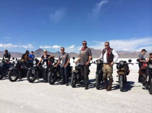 Team Vino at the Salt Flats