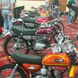Collection of Yamaha enduros