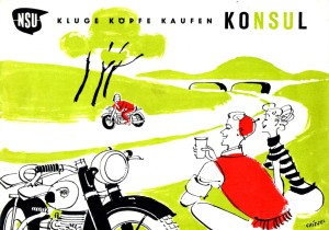 Konsul advertising from 1952.