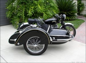 1951 Vincent Rapide with Steib Sidecar