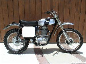 1972 BSA B50 MX, 500