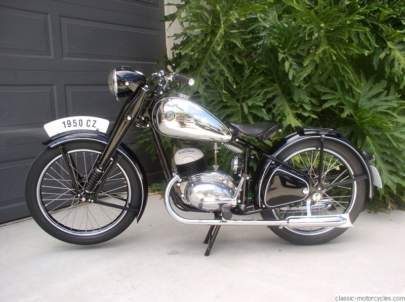 1950 Cz 150 Classic Motorcycles