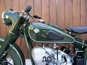 1951 BMW R51/3 Police Motorcycle