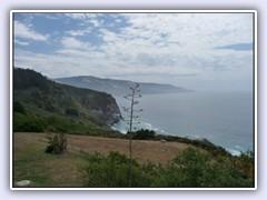 California's famous coastline along Highway 1.