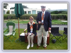 Dan Reichel & Theresa Worsch coordinated the motorcycle portion of the Pebble Beach event.