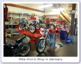 Mike Kron's Shop in Germany