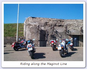 Riding at the Maginot Line