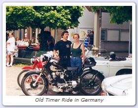 Old Timer Ride in Germany